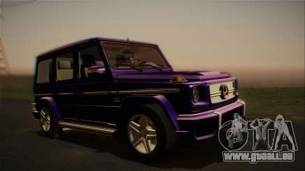 Mercedes-Benz G65 2013 Stock body für GTA San Andreas