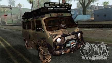 UAZ 2206 Pain pour GTA San Andreas