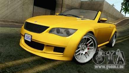 GTA 5 Ubermacht Sentinel Coupe für GTA San Andreas