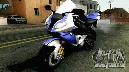 BMW S1000RR HP4 v2 Blue pour GTA San Andreas