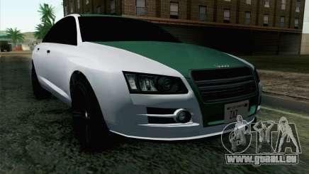 GTA 5 Obey Tailgater v2 IVF für GTA San Andreas