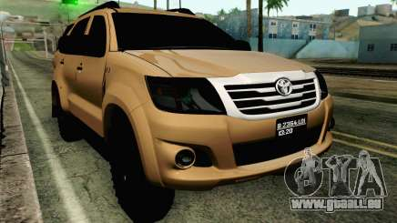 Toyota Fortuner 2014 4x4 Off Road für GTA San Andreas