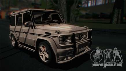 Mercedes-Benz G65 2013 Hamann Body für GTA San Andreas