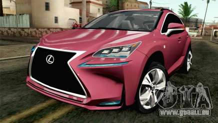 Lexus NX 200T v3 pour GTA San Andreas