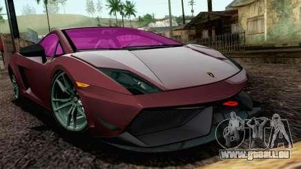 Lamborghini Gallardo LP570-4 Superleggera 2011 pour GTA San Andreas