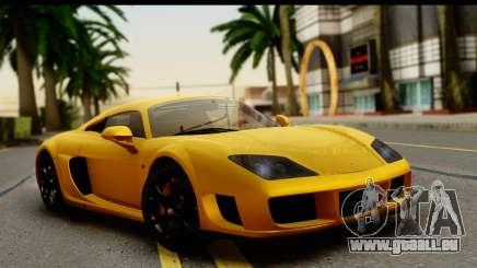 Noble M600 2010 HQLM pour GTA San Andreas