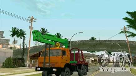 KamAZ 44108 Bois pour GTA San Andreas