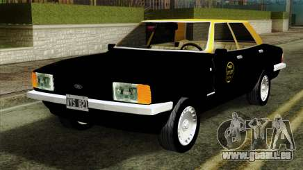 Ford Taunus 1981 Taxi Argentina pour GTA San Andreas
