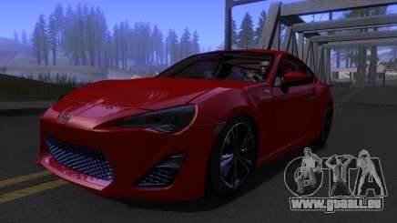 Scion FR-S 2013 Stock v2.0 für GTA San Andreas