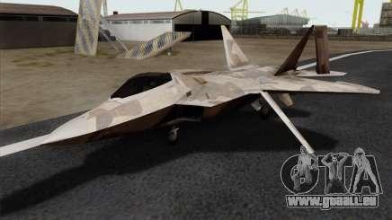 F-22 Raptor 02 für GTA San Andreas