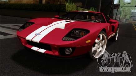 Ford GT FM3 Rims pour GTA San Andreas