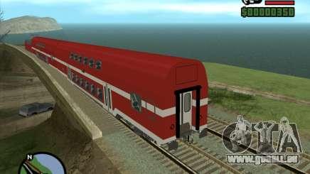 Israeli Train Double Deck Coach pour GTA San Andreas