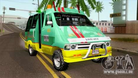 Toyota Microbus v2 pour GTA San Andreas