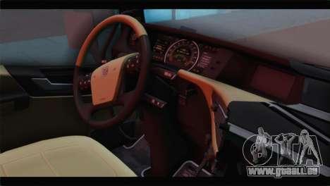 Volvo FH4 für GTA San Andreas rechten Ansicht