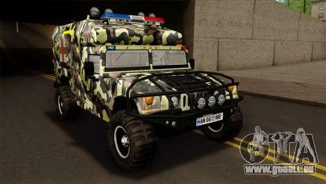 HMMWV M997 Ambulance pour GTA San Andreas