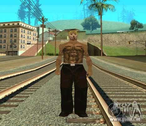 Vagos Skin Pack pour GTA San Andreas troisième écran