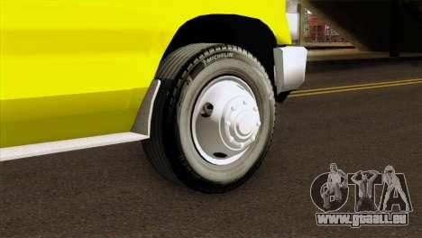 Ford F-450 2014 Quebec Ambulance für GTA San Andreas zurück linke Ansicht