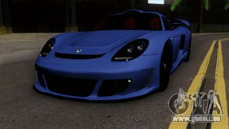 Gemballa Mirage GT v1 Windows Up pour GTA San Andreas