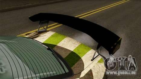 Nissan Silvia S15 Hunter pour GTA San Andreas vue arrière