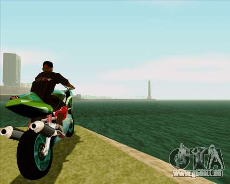 NRG-500 Winged Edition V.2 pour GTA San Andreas vue arrière