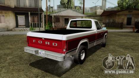 Ford F-150 1982 Final für GTA San Andreas linke Ansicht