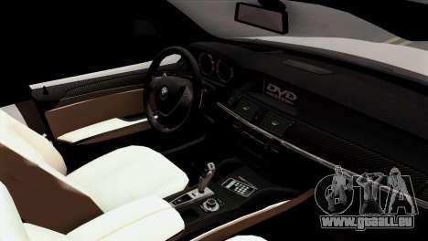 BMW X3 F25 2012 für GTA San Andreas rechten Ansicht