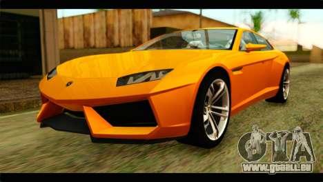 Lamborghini Estoque pour GTA San Andreas