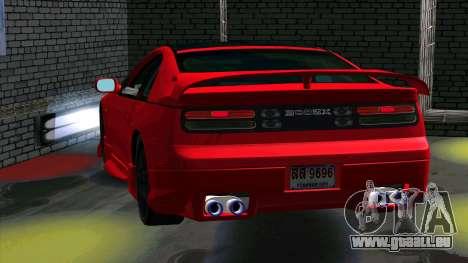 Nissan 300ZX pour GTA San Andreas vue arrière