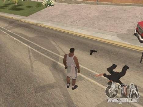 Große russische Waffen für GTA San Andreas dritten Screenshot