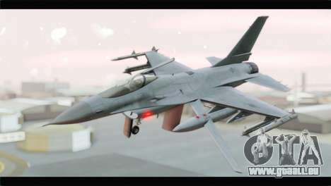 F-16A Republic of Korea Air Force für GTA San Andreas
