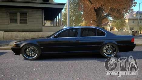 BMW 750i e38 1994 Final für GTA 4 linke Ansicht