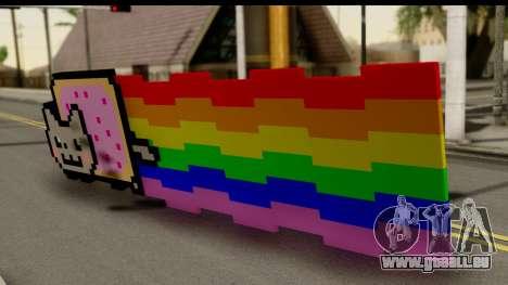 Nyan Cat pour GTA San Andreas laissé vue