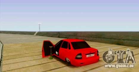 VAZ 2170 LE БПАN pour GTA San Andreas vue arrière