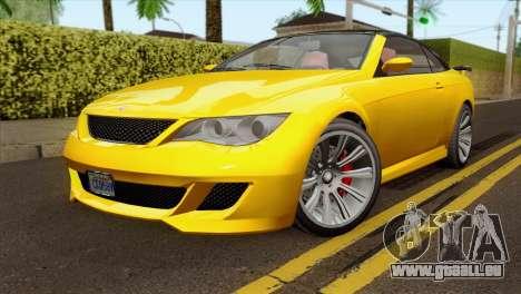 GTA 5 Ubermacht Zion XS Cabrio für GTA San Andreas