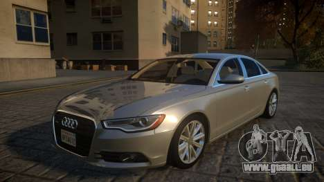 Audi A6 2012 v1.0 pour GTA 4