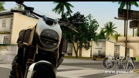 Ducati Diavel 2012 pour GTA San Andreas vue arrière