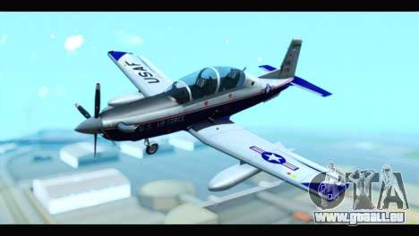 Beechcraft T-6 Texan II US Air Force 2 pour GTA San Andreas