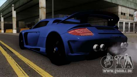 Gemballa Mirage GT v1 Windows Up pour GTA San Andreas laissé vue