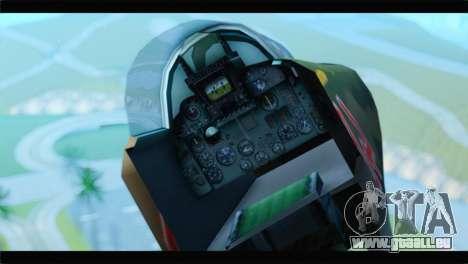 MIG-23ML Yuktobanian Air Force pour GTA San Andreas vue de droite