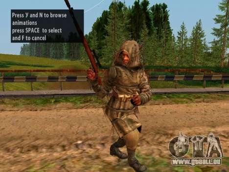 Soviétique Sniper pour GTA San Andreas cinquième écran