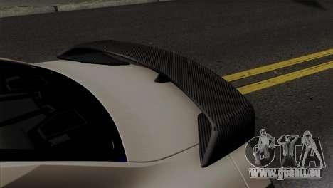 Nissan GT-R R35 2012 für GTA San Andreas rechten Ansicht