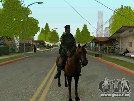 Kuban Cossack pour GTA San Andreas troisième écran