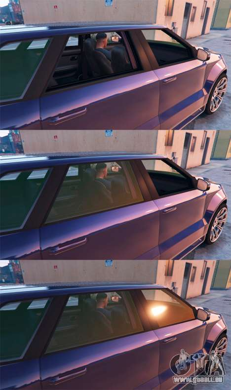 GTA 5 La conduite quatrième capture d'écran