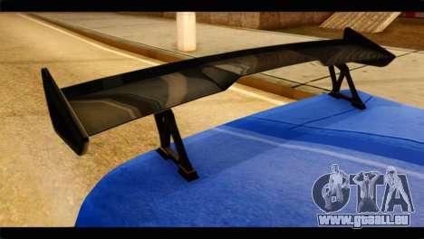 Infernus Rapide GTS für GTA San Andreas rechten Ansicht