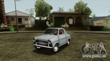 Vespa 400 für GTA San Andreas