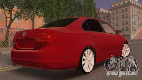 Volkswagen Jetta für GTA San Andreas linke Ansicht
