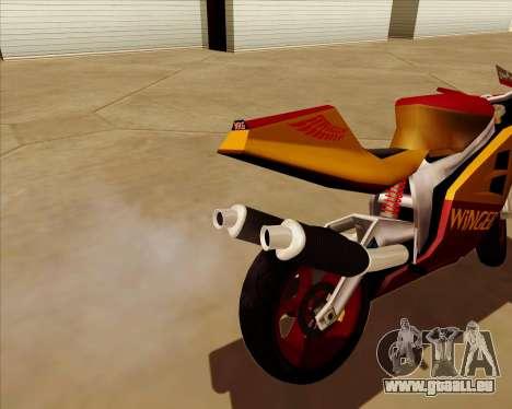 NRG-500 Winged Edition V.2 pour GTA San Andreas vue de dessous