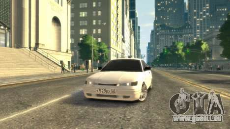 VAZ 2112 coupe BadBoy für GTA 4 linke Ansicht