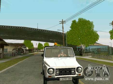 LuAZ-2403 Aeroflot pour GTA San Andreas vue de droite