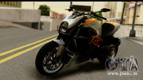 Ducati Diavel 2012 pour GTA San Andreas